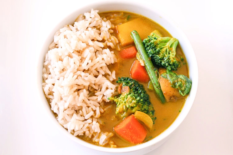 Thai Yellow Curry - There's something about the flavors of Thai Yellow Curry that I just love - the creaminess of the coconut milk, the spices that warm you from the inside out, and the slow cooked veggies make me just happy. Forget takeout - here's how you make Thai Yellow Curry at home and just wait until you see how easy it is!