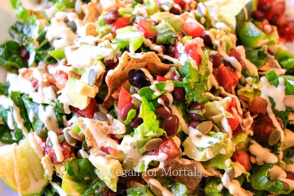 Taco Salad - Who doesn't love taco salad? Ready in under 30 minutes!
