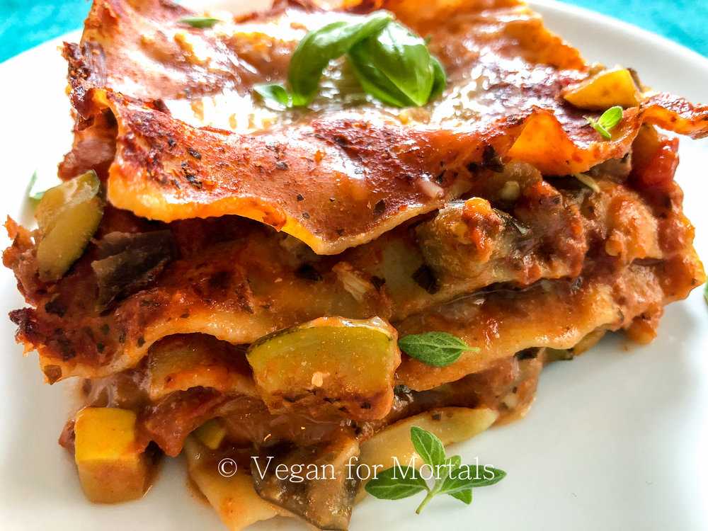 Classic Vegetable Lasagne
