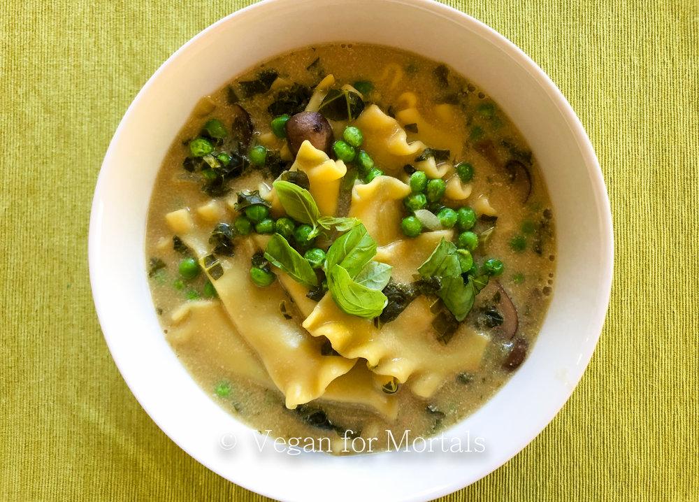 Winter Lasagne Soup