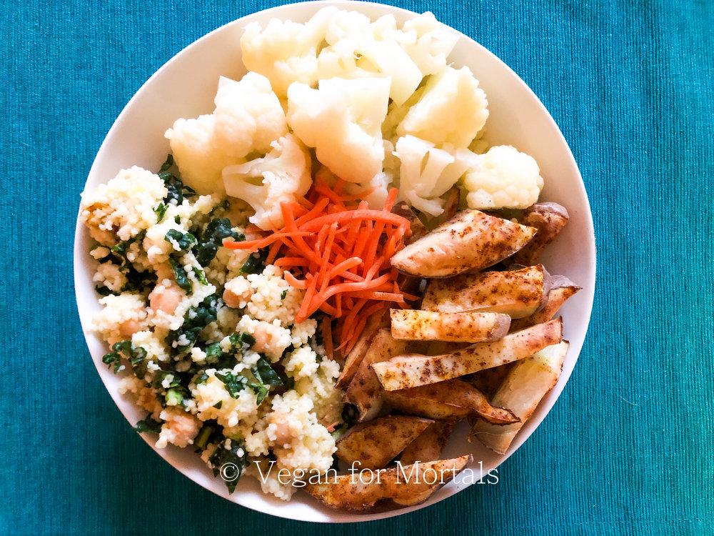 Couscous Cauliflower Bowl