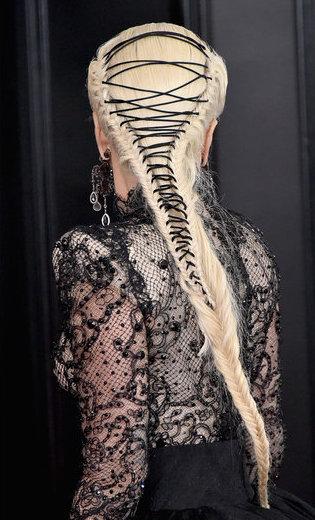 Lady Gaga Hair Styling Grammys 2018 Red Carpet .jpg