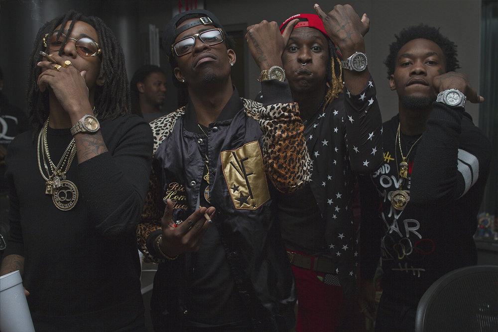Quavo, Rich Homie Quan, Young Thug, Offset, Atlanta, GA 2014