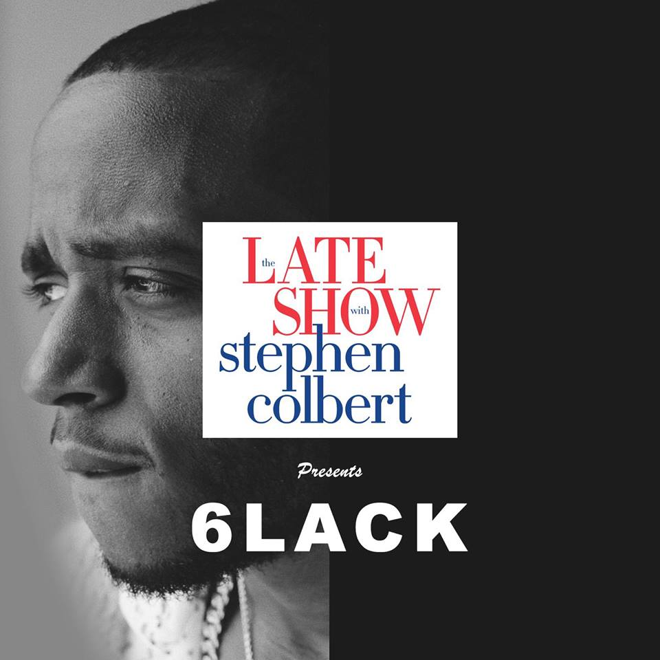 6lack on The Late Show with Stephen Colbert  Press