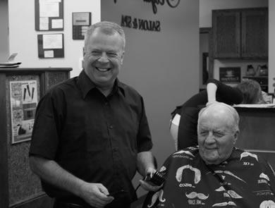 JAY WERNER - barber