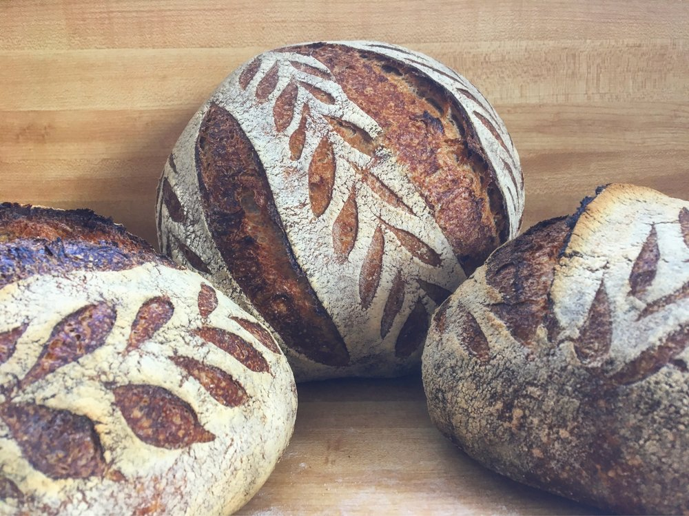 OUR BREADS & PASTRY - nutritious organic whole grains for everyone
