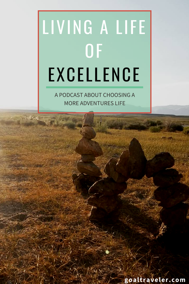Learn to live a life of excellence on The Just Go Network featuring Hug Your Chaos.