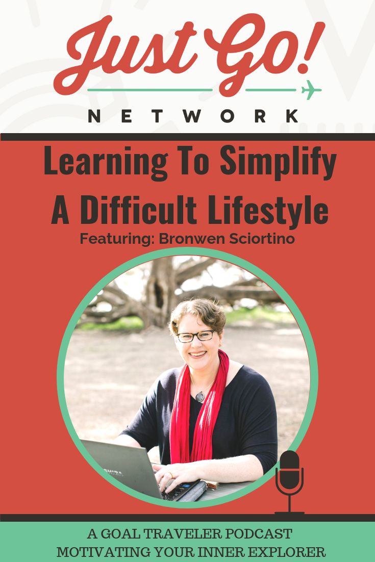 GOAL TRAVELER-PODCAST- JUST GO NETWORK-LEARNING TO SIMPLIFY A DIFFICULT LIFESTYLE