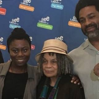 Youth Poet Laureate Press Conference - Parkway Central Library Free Library of Philadelphia w/Sonia Sanchez & Sharif El-Mekki 9/2017