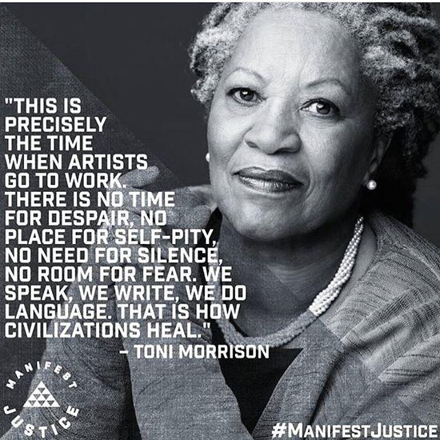 #tonymorrison #powerofart #motivation #quotes #blackart #blackartist #manifest