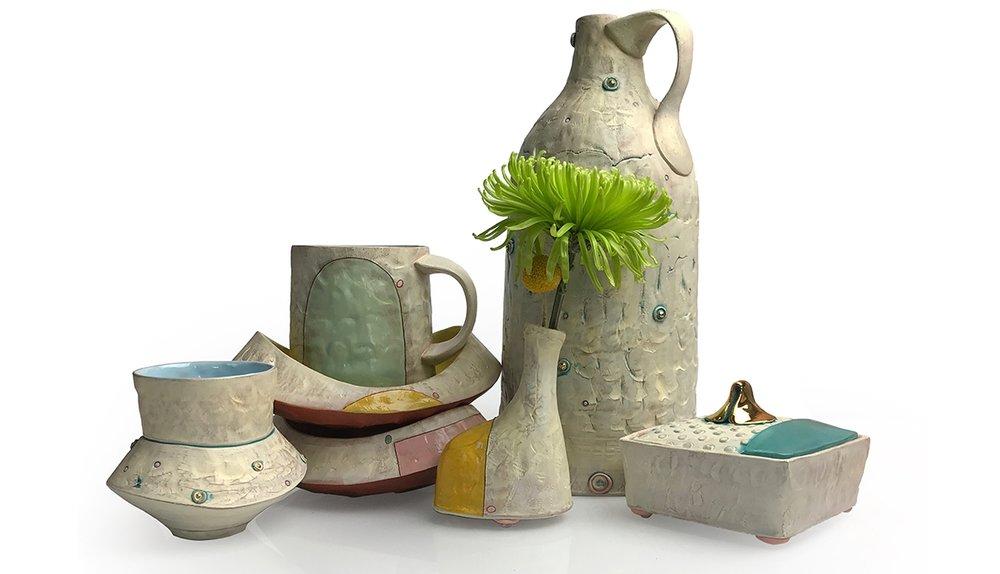 Didem Mert_Collection_2018_mid-range stoneware, terra sigs., slips, AMACO underglazes, glazes, washes, fired to cone 5 OX., lustre, fired to cone 018 OX._handbuilt.jpg