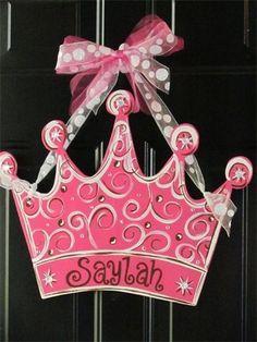 wooden door hanger princess crown.jpg
