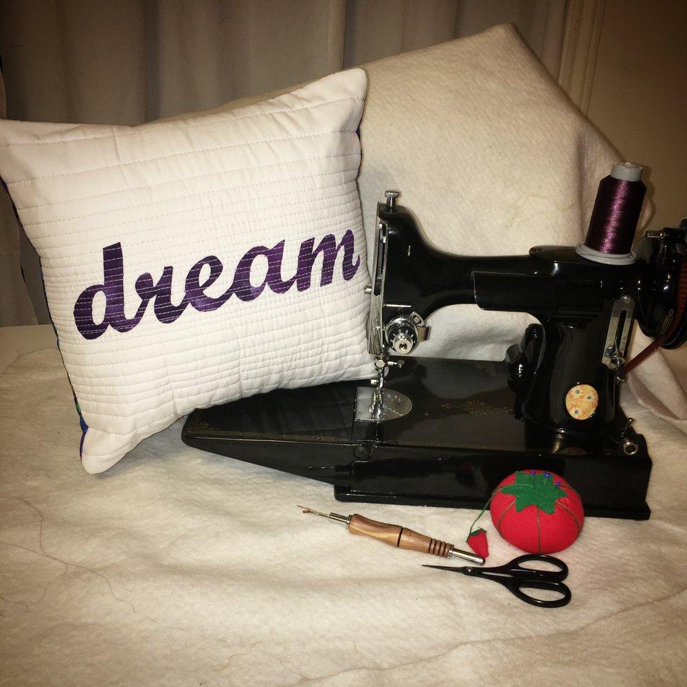 machine quilting class dream.JPG