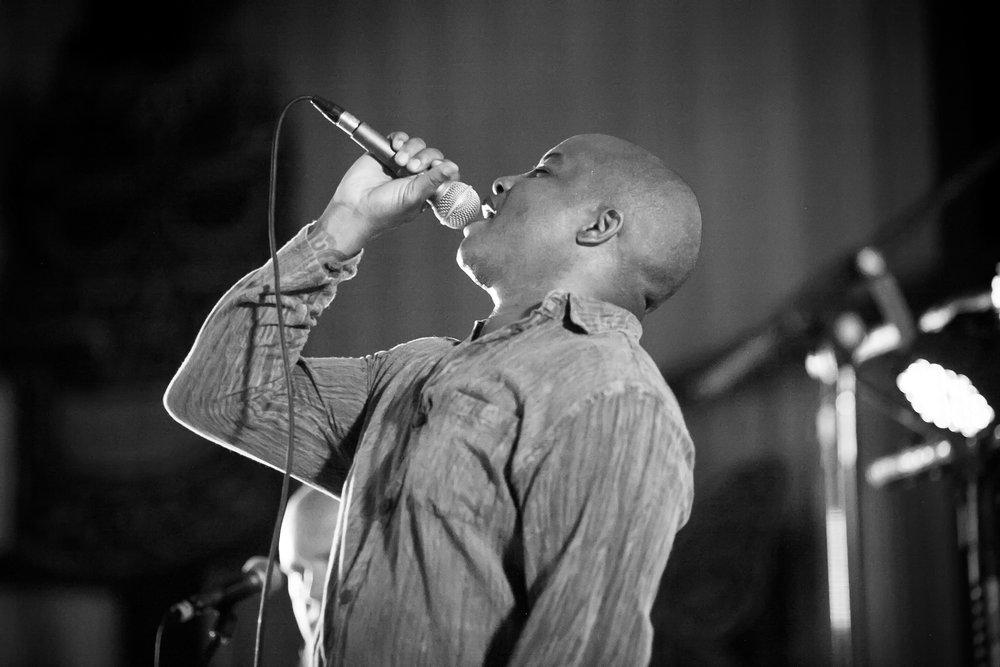 Nahi performing at the Lovelight festival 2018