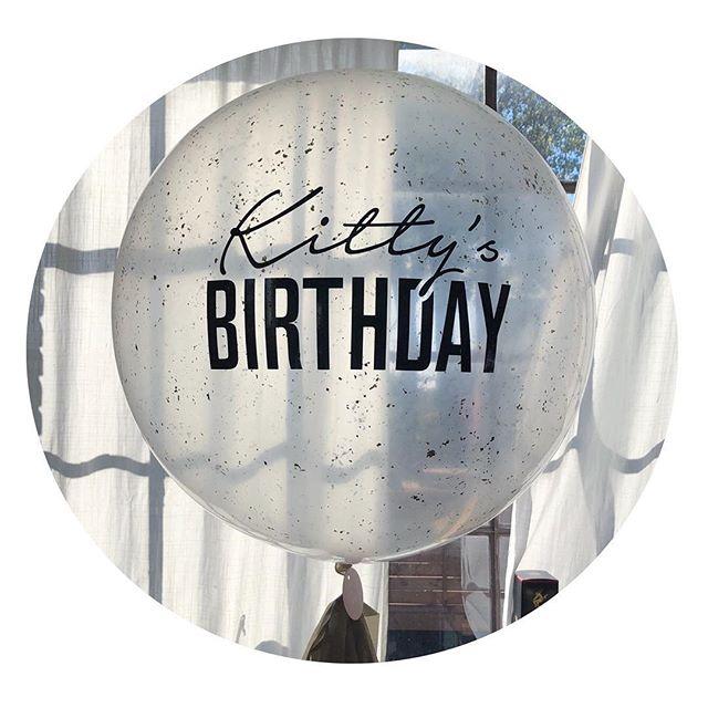 Kitty's birthday! 😻