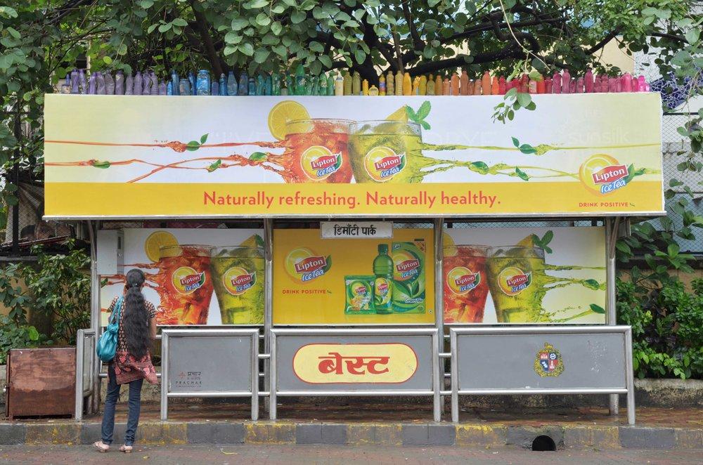 'Bus Stop Bottle Rainbow'2_2011.jpg