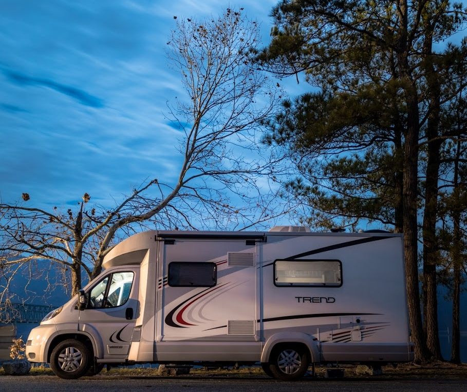 This is our new Winnebago Trend. We decided to make the switch from our towable Travel Trailer to a Class C Motorhome after our first trip to Yellowstone National Park.