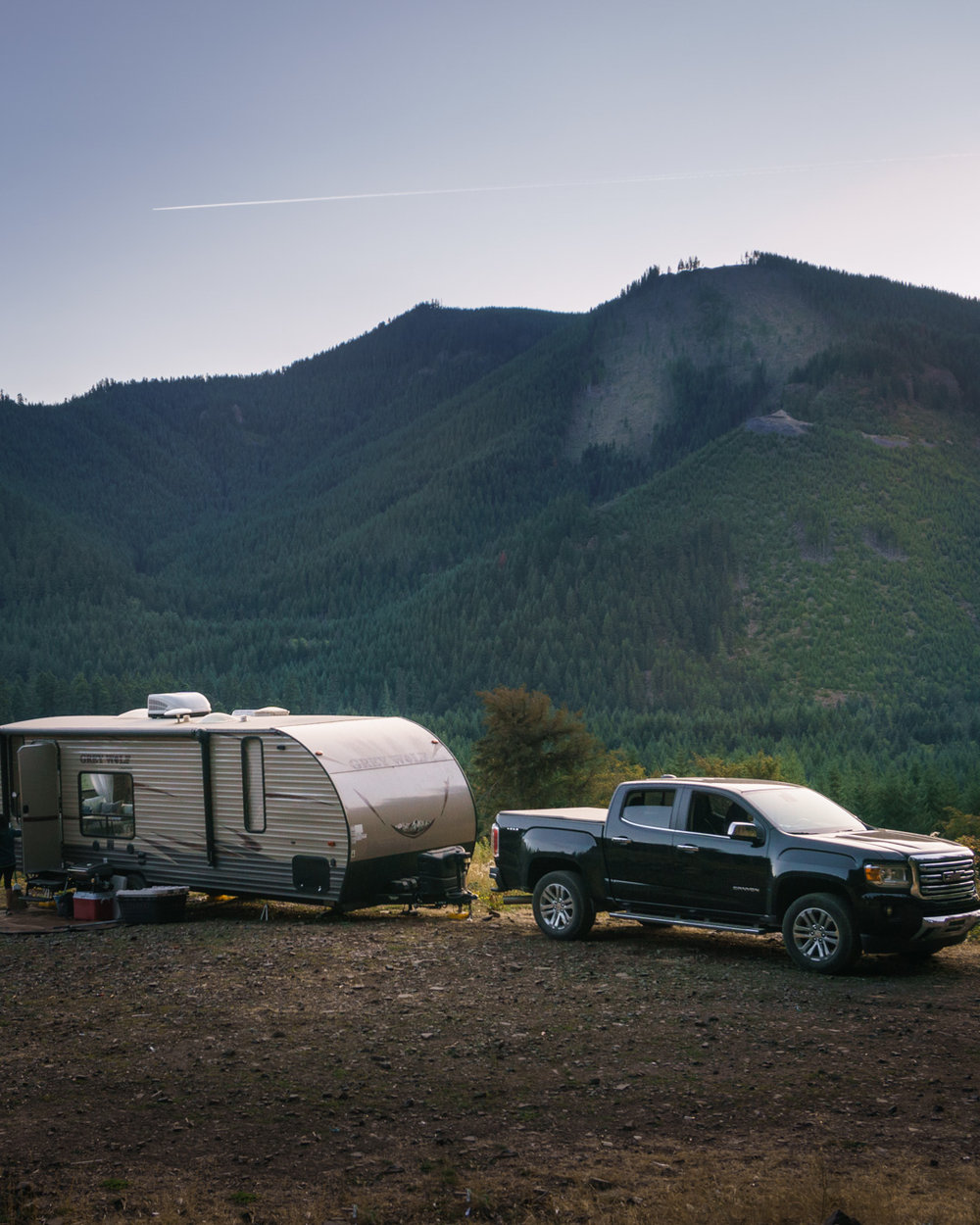 Our Travel Trailer made it into some pretty rugged, but epic spots!