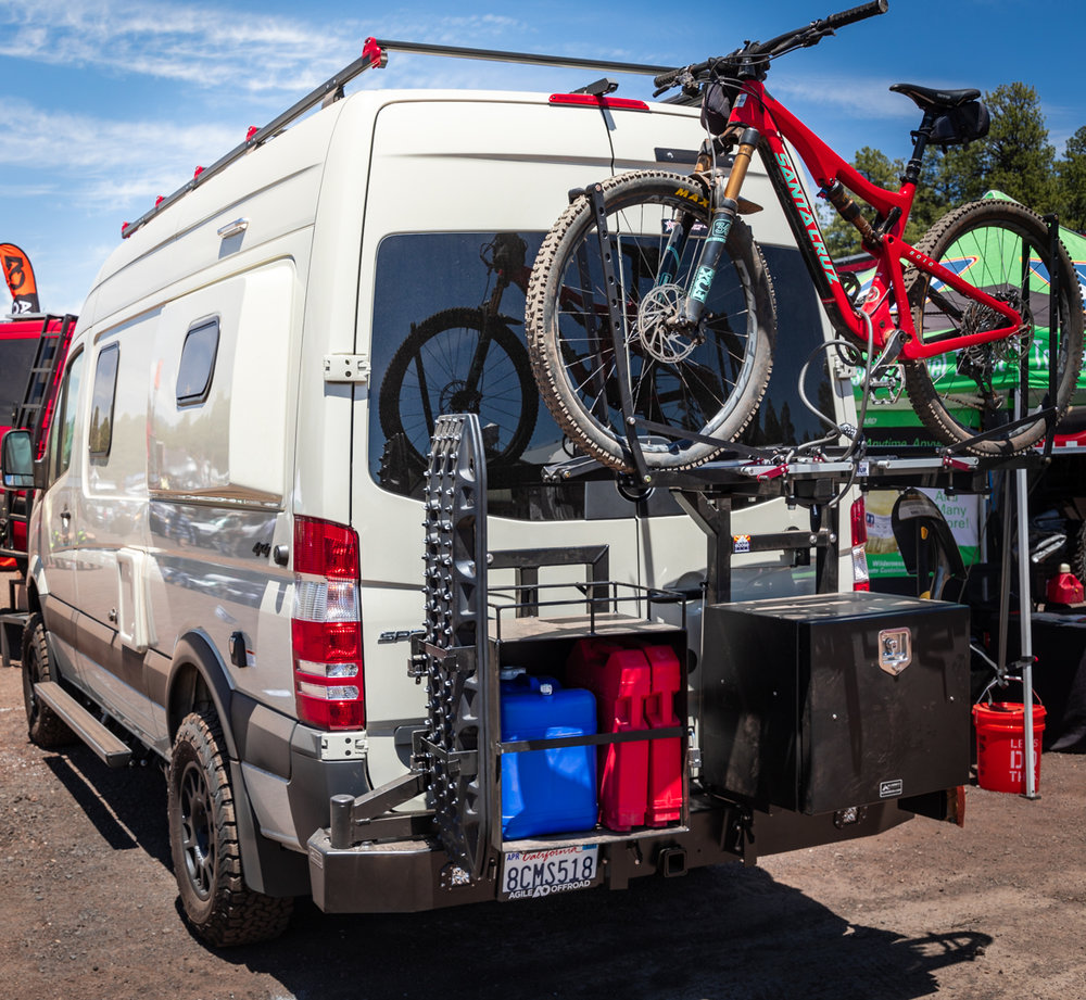 We stumbled across the  Overland Expo West  in 2017, hardly understanding what we were looking at, but our wheels have been spinning since. In 2018, we returned to Overland Expo West and took serious notes on 4x4 van options.