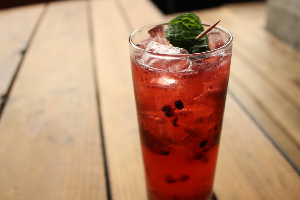 The Juanita MORE! has Jameson, blackberry, lime juice and ginger beer (TP)