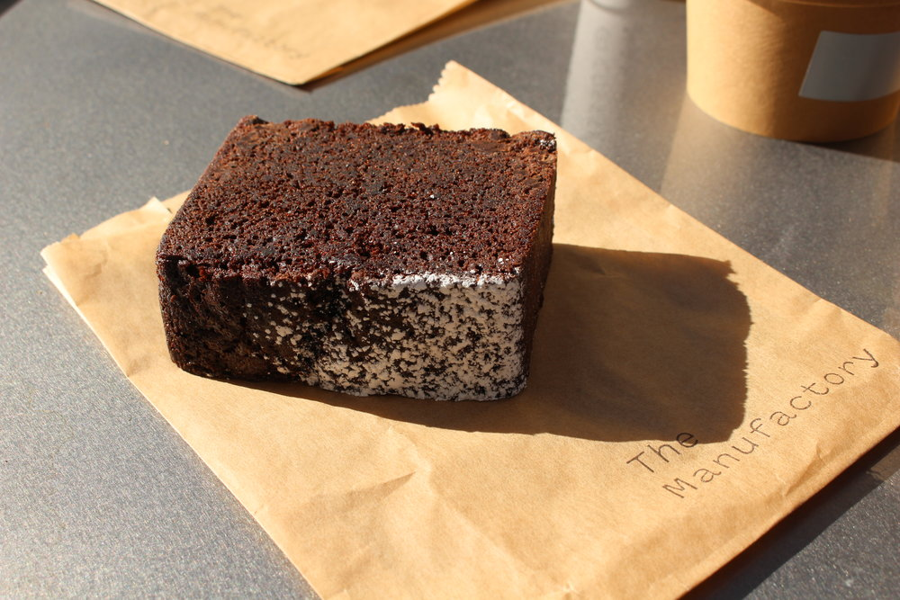 Chocolate rye teacake is currently the most popular dessert here.