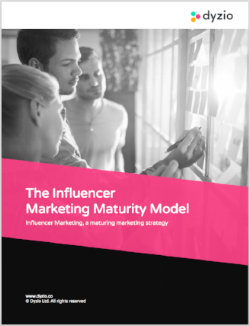 Influencer Marketing Maturity Model