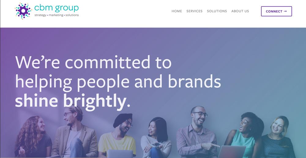 CBM Group Homepage - Sarah Moon + Co | sarahmoon.net