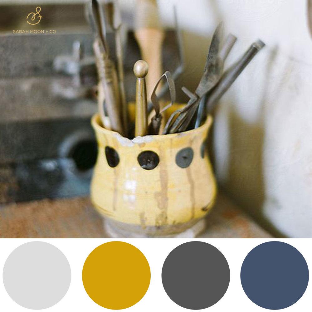 Client Color Palette - Sarah Moon + Co | sarahmoon.net