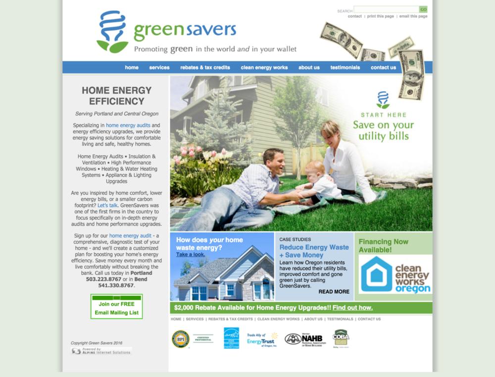 GreenSavers USA: Before