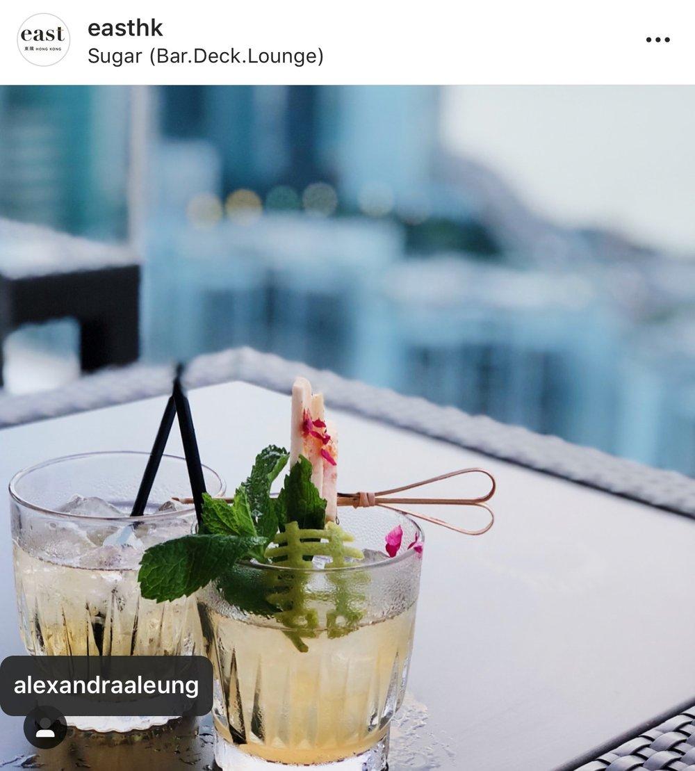 EAST hk sugar bar - re-opening of Sugar (Bar.Deck.Lounge)