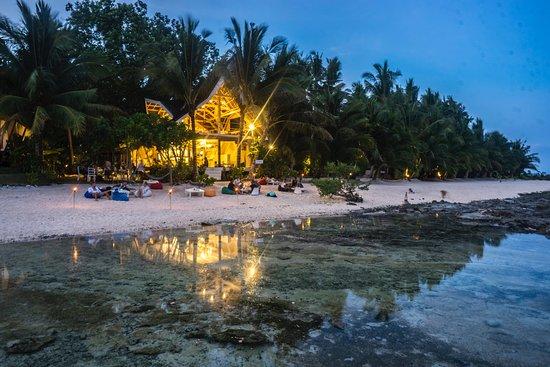 The White Banana Beach Club on Tuason beach.