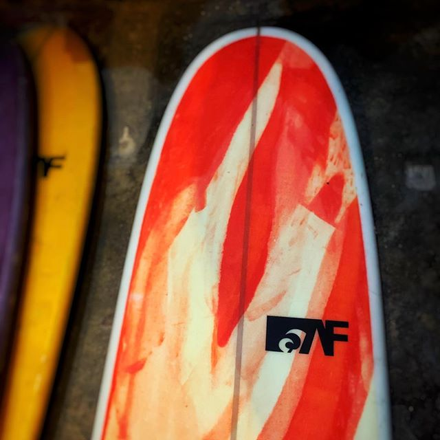 9'0 longboard from @aframesurfcompany , the girls are getting tired of carrying it inside and outside everyday so we're gonna put it on special price of 26k down from 30k.  Come get it before it's gone!  #fatlips #surfshop #siargao  #fatlipssurfshop  #Aframe  #aframesurfcompany #longboard