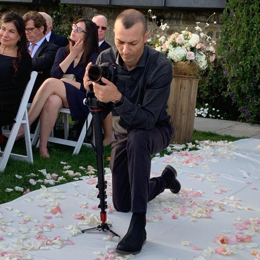 Bel Air Bay Club Wedding Ceremony