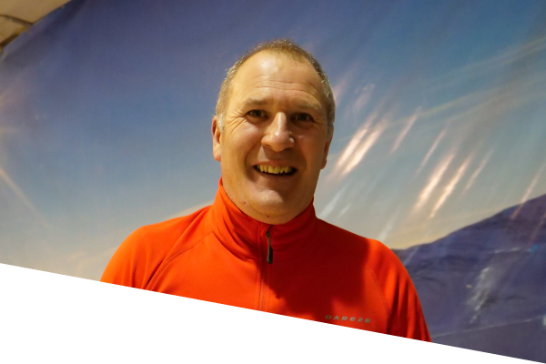 ski centre instructor dave lyons