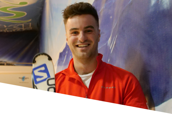 ski centre instructor enda bolger