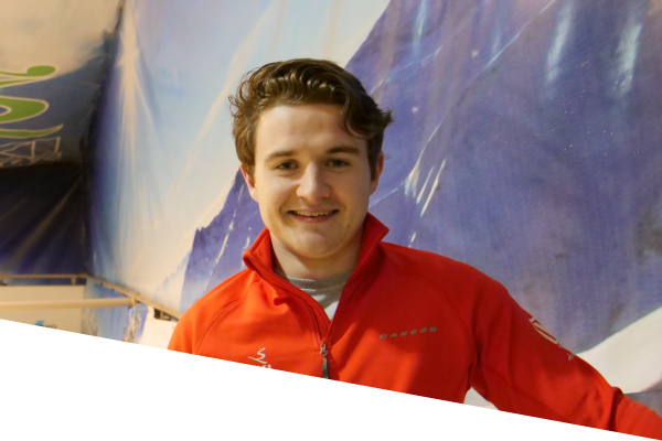ski centre instructor ronan sharkey