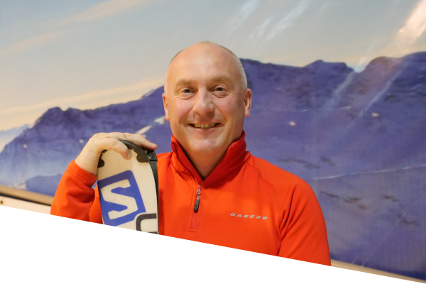 ski centre instructor fergus cardiff