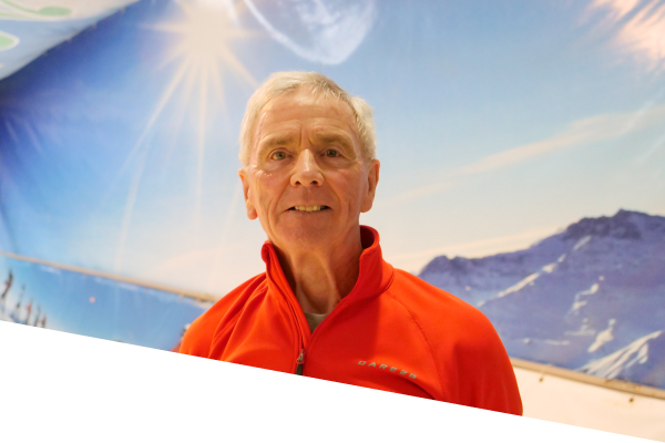 ski centre instructor frank fahey
