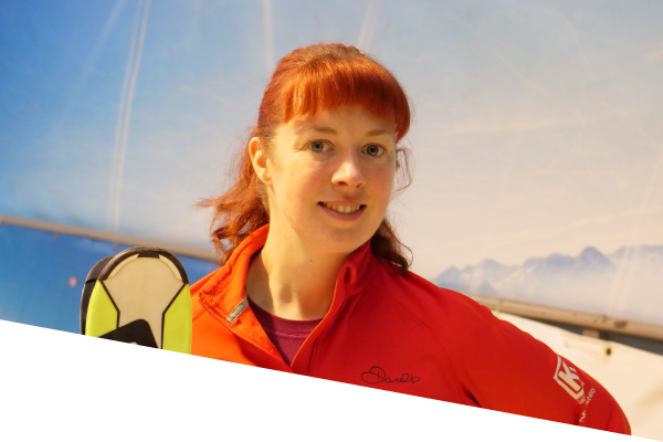 ski centre instructor lisa gallagher