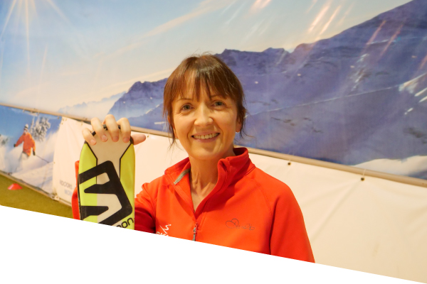 ski centre instructor ailbhe doyle