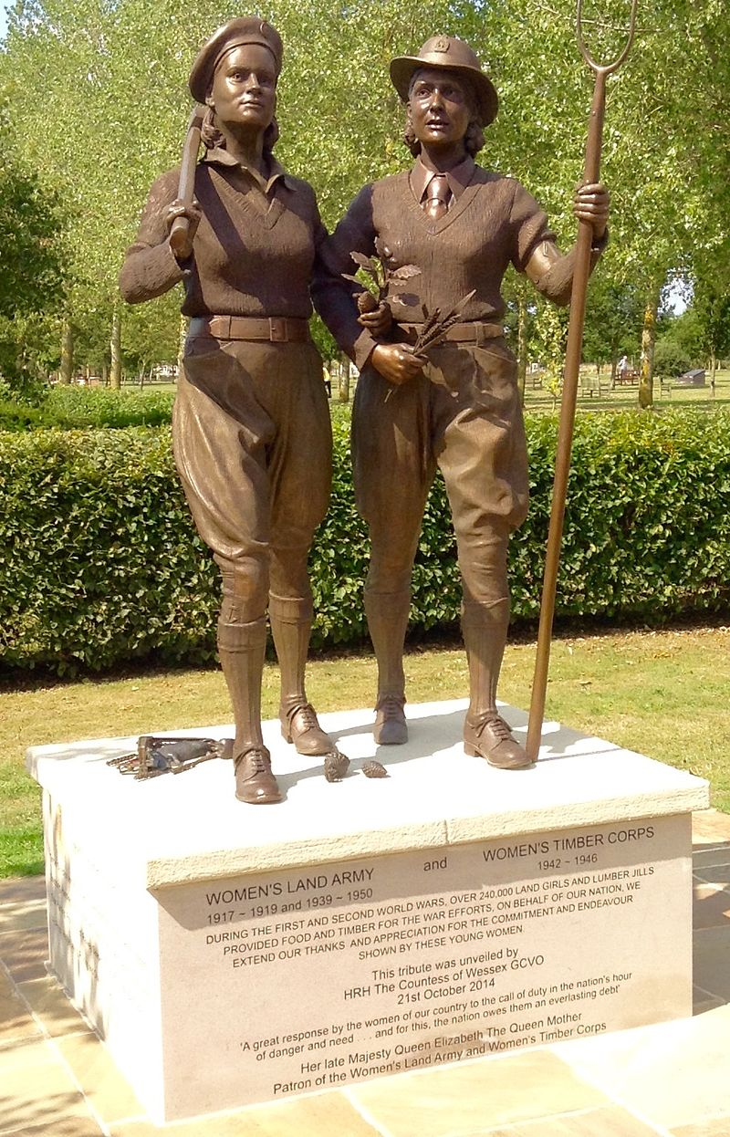 Women's_Land_Army_statue