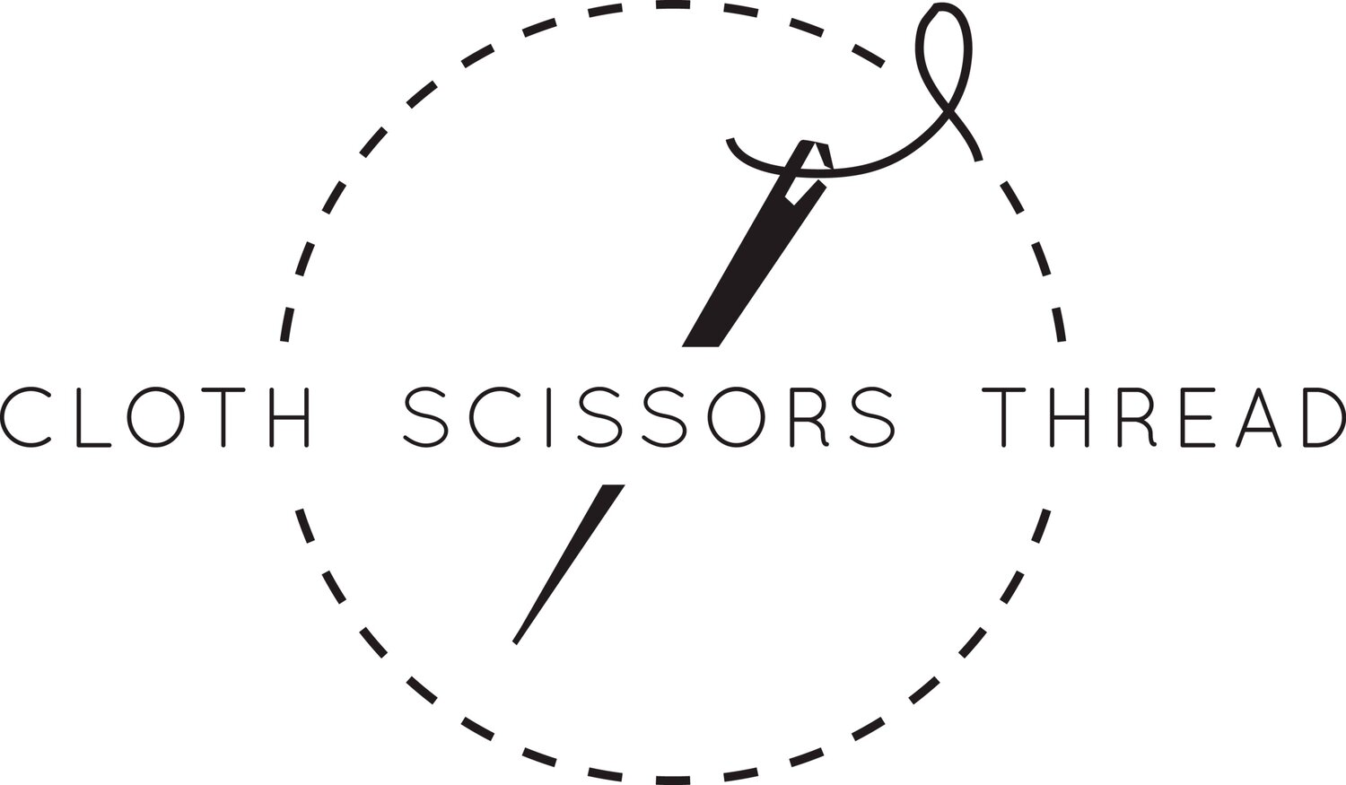 Cloth Scissors Thread