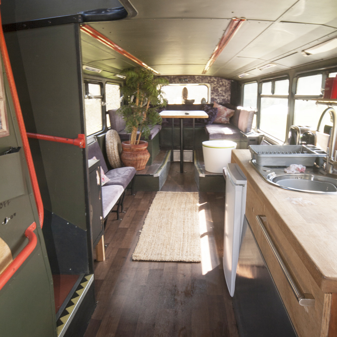 Bertie The Bus - Enjoy some double-decker decadence in our two-storey, 4-berth luxury bus...