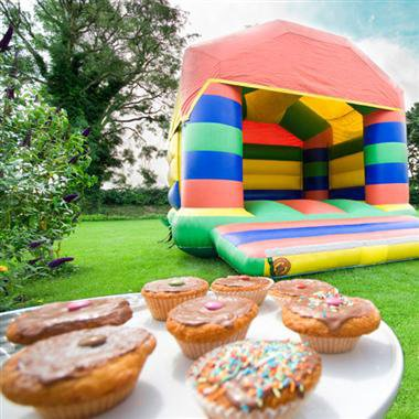 Partyfield Dorset childrens party bouncy castle 1.jpg
