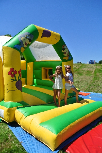 Partyfield Dorset childrens party bouncy castle 3 .jpg