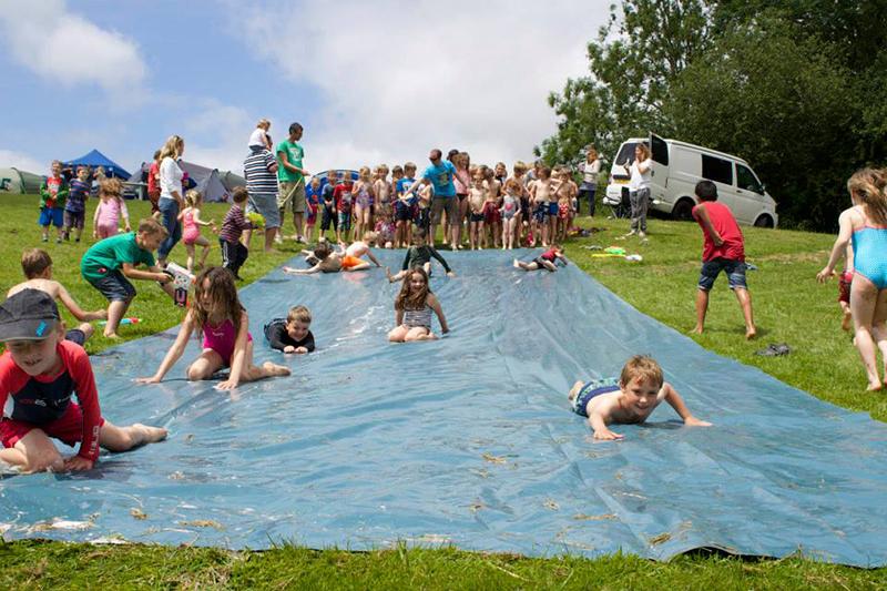 Partyfield Dorset childrens party water slide .jpg
