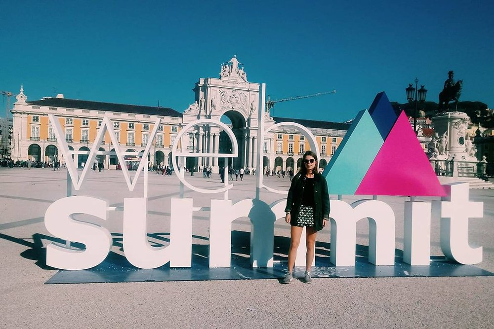 My First Web Summit with Qadre -