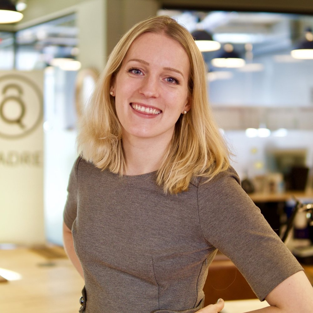 Imogen Bunyard, COO   Imogen most recently co-founded blockchain consultancy Zerado, alongside providing an executive lead for projects and operations for its subsidiary company Disberse. Previously, she project managed the world's first significant financial blockchain project, authored a report for the Welsh Government's Financial & Professional Service sector, influencing huge investment into the region, and led operations and projects as part of the senior leadership team at Ariadne Capital. Imogen additionally provides digital strategy advisory at board-level to several NGOs.