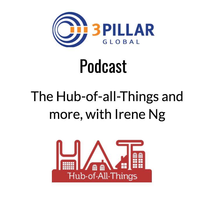 - On this week's episode of The Innovation Engine podcast, we'll be talking about The Hub of All Things, aka HAT.