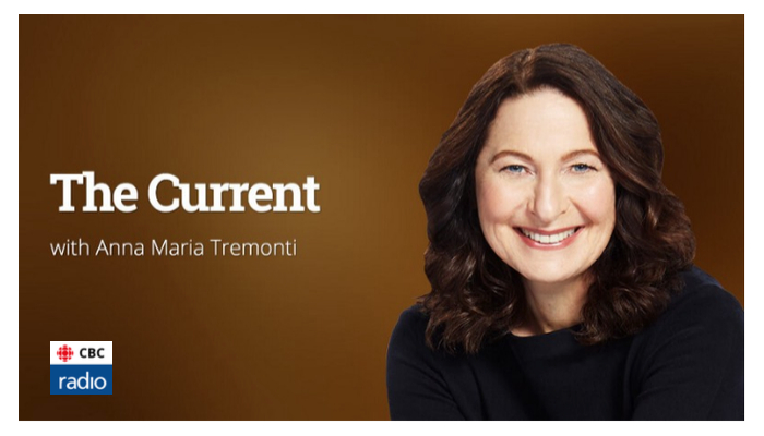 Anna Maria Tremonti, host of The Current on CBC Radio Toronto talks to Irene on the HAT - 13 April 2018
